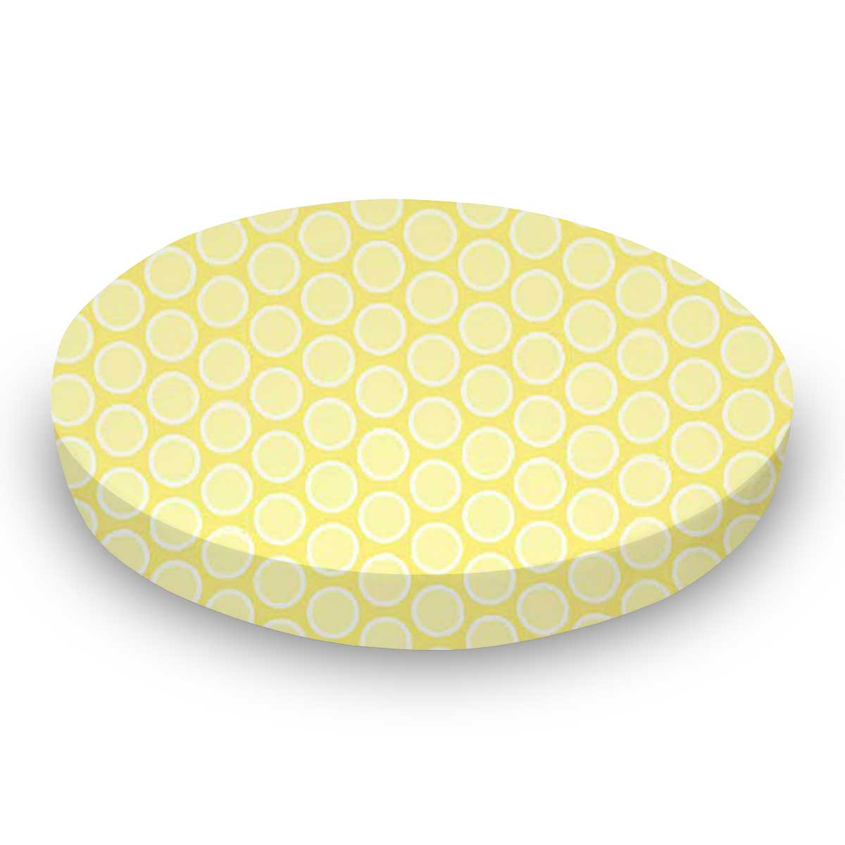 Pastel Yellow Bubbles Woven