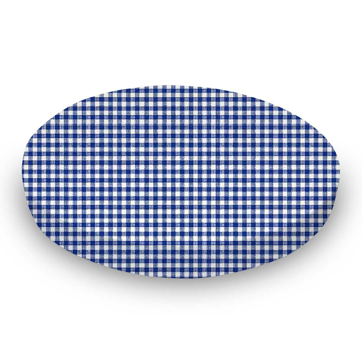 Primary Navy Gingham Woven