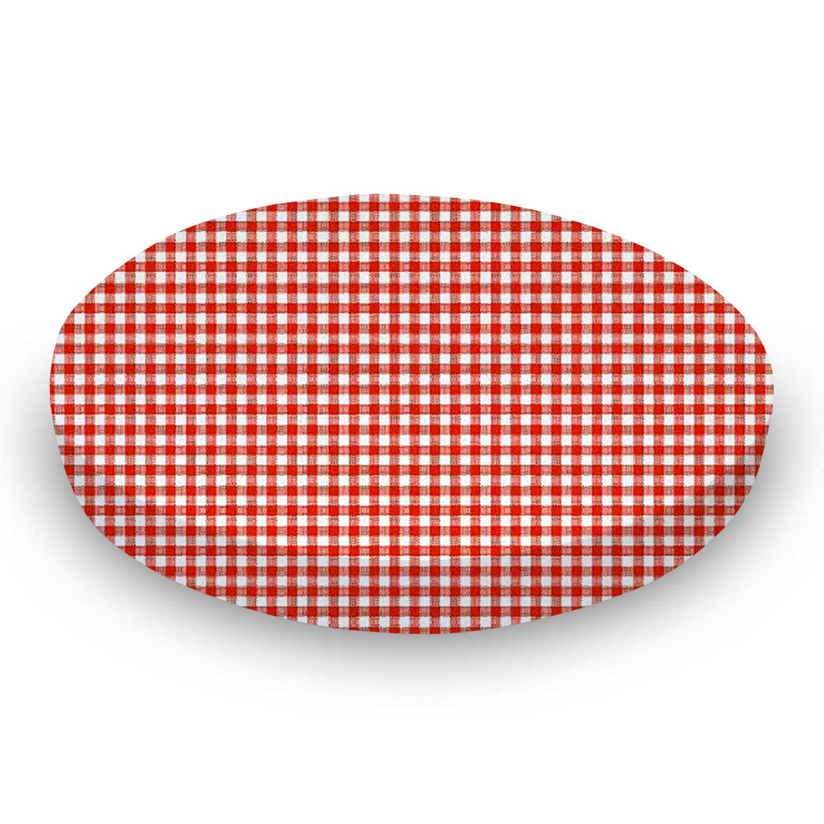 Primary Red Gingham Woven