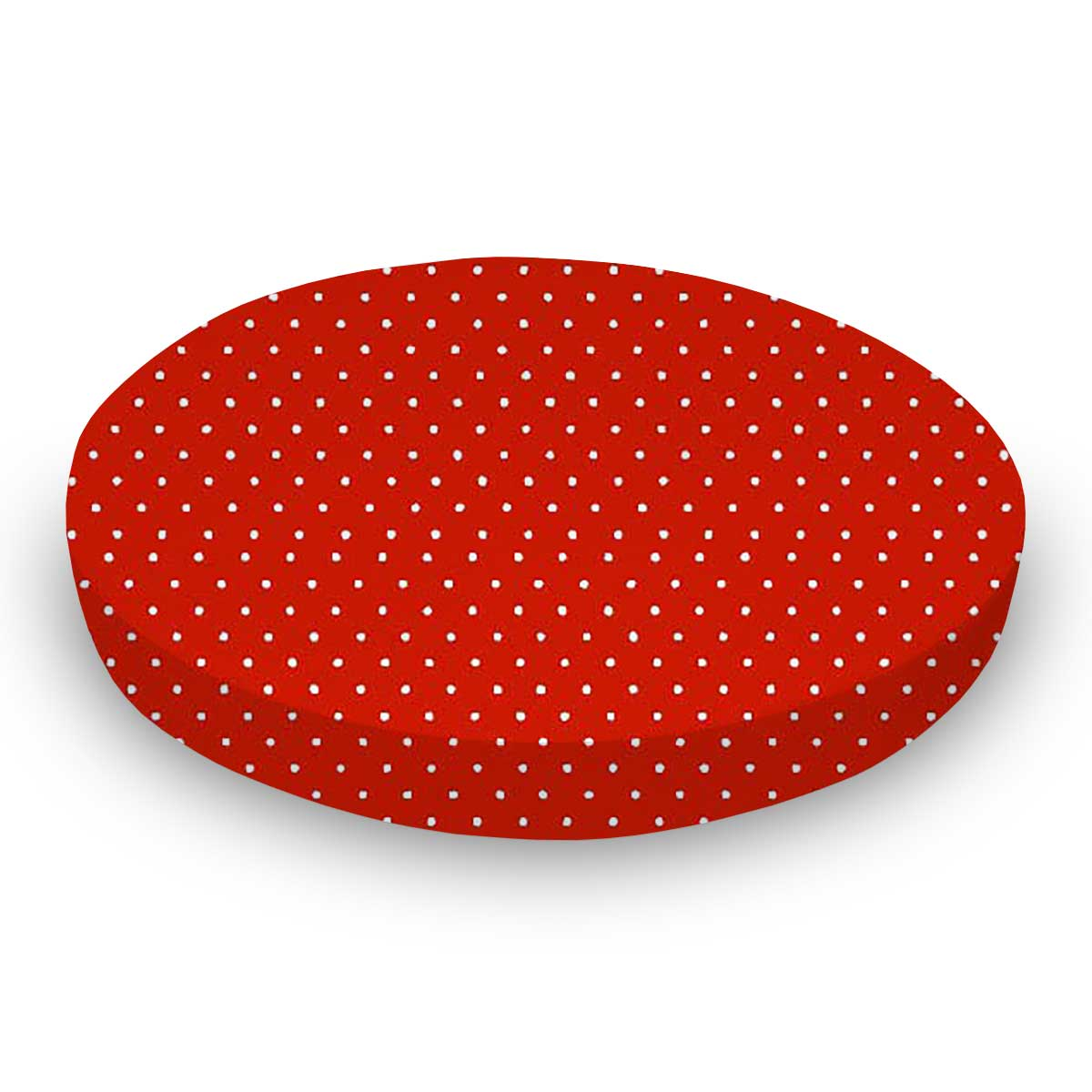 Primary Pindots Red Woven