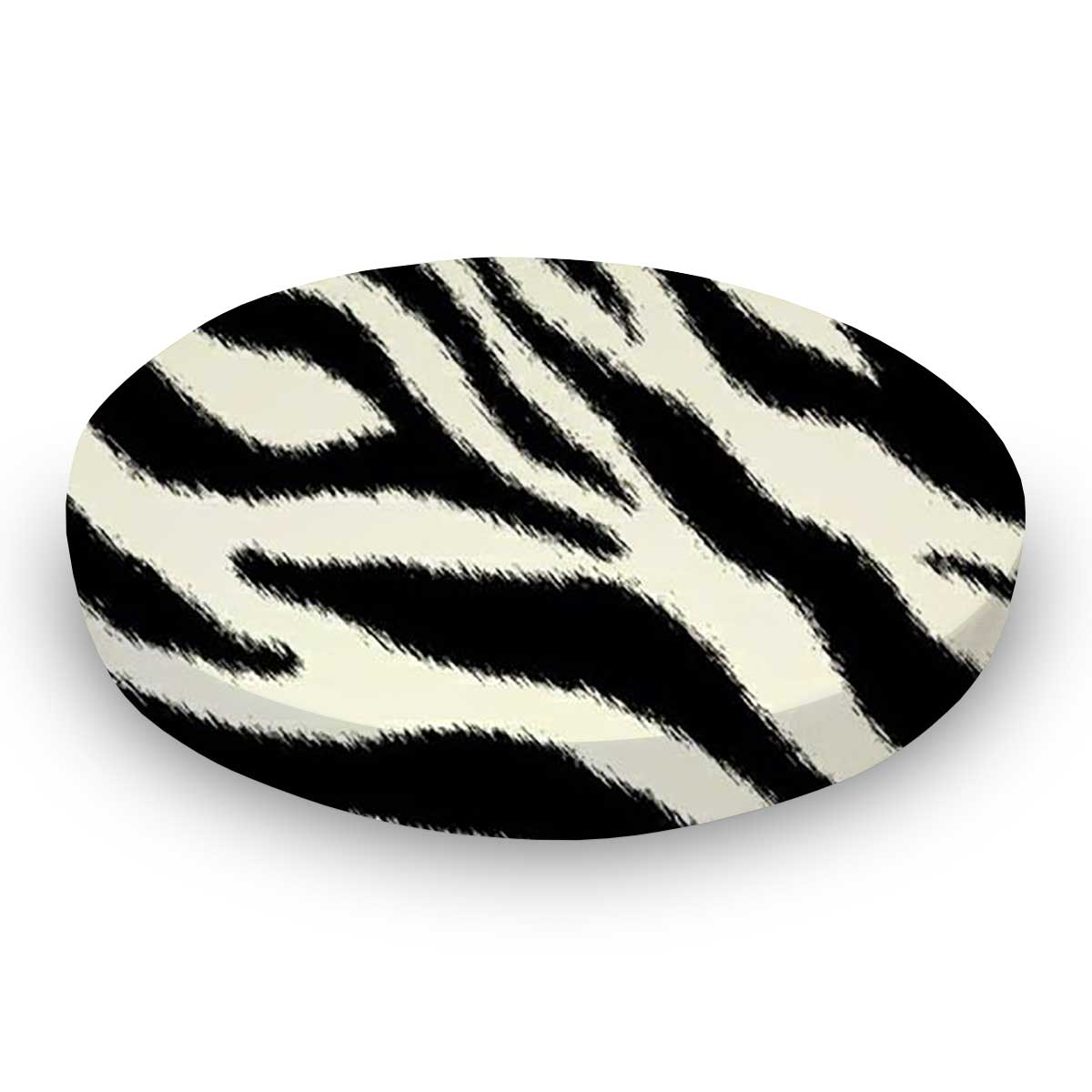 Zebra Round Crib Sheets Sheetworld