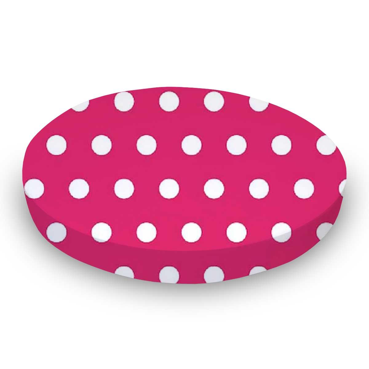 Polka Dots Hot Pink