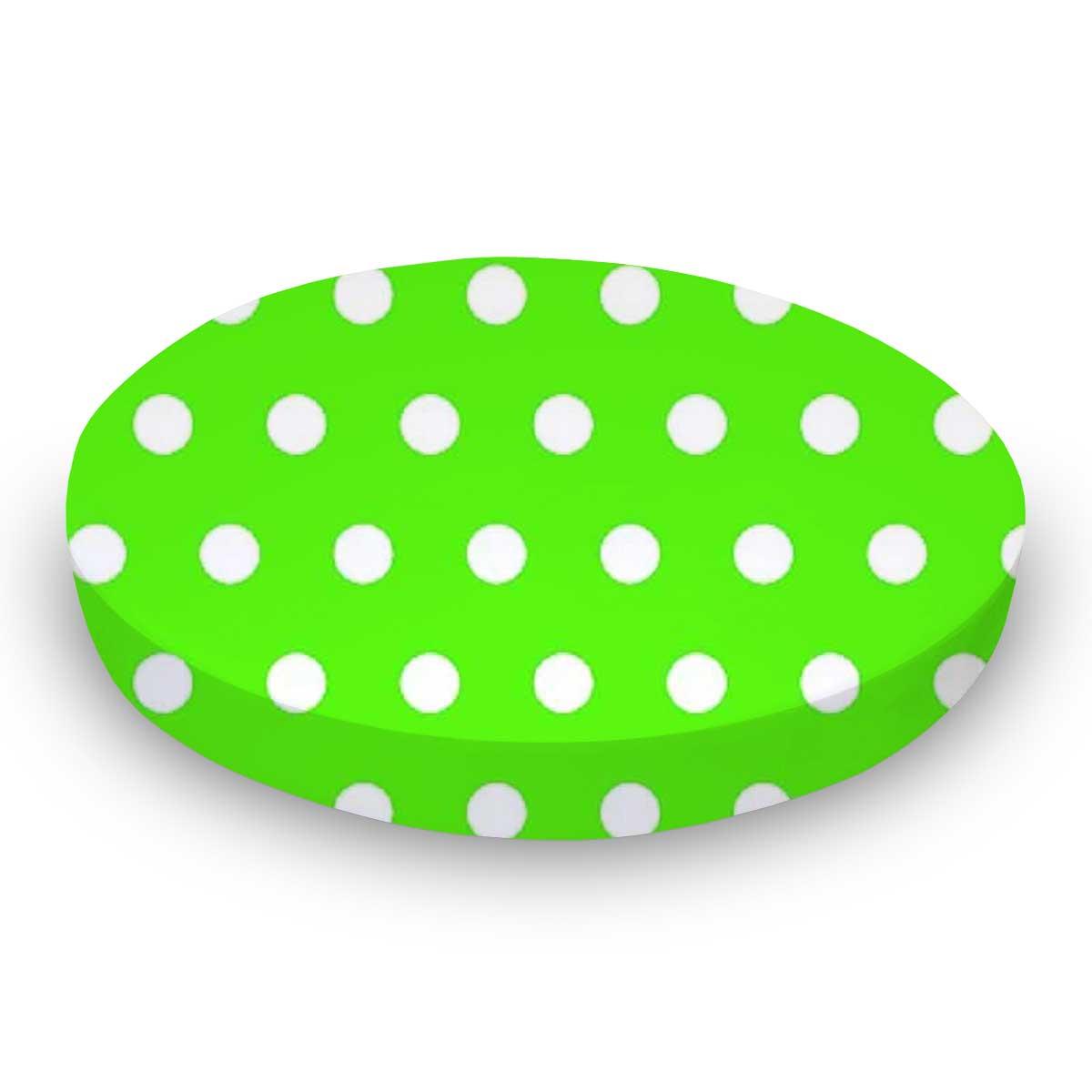Polka Dots Lime