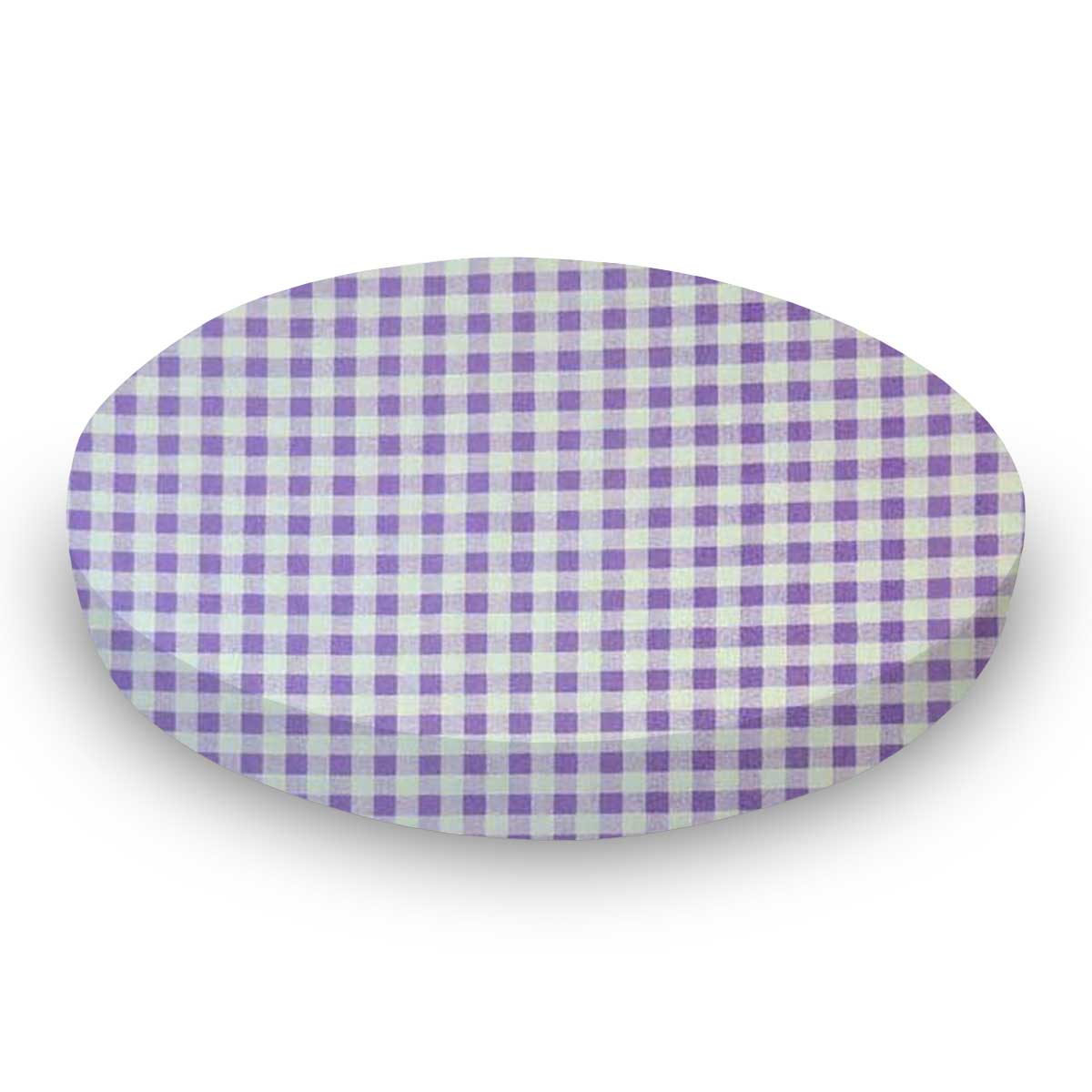 Lavender Gingham Check