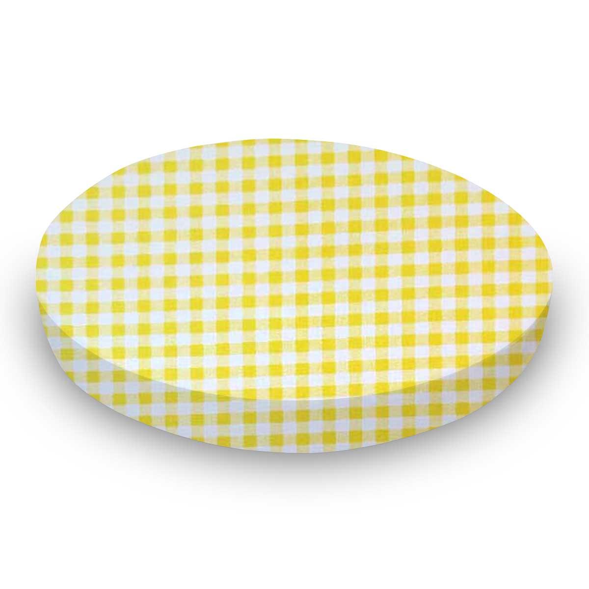 Yellow Gingham Check