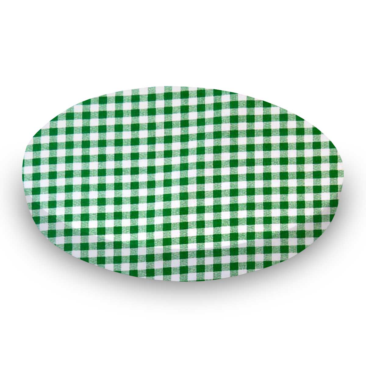 Green Gingham Check