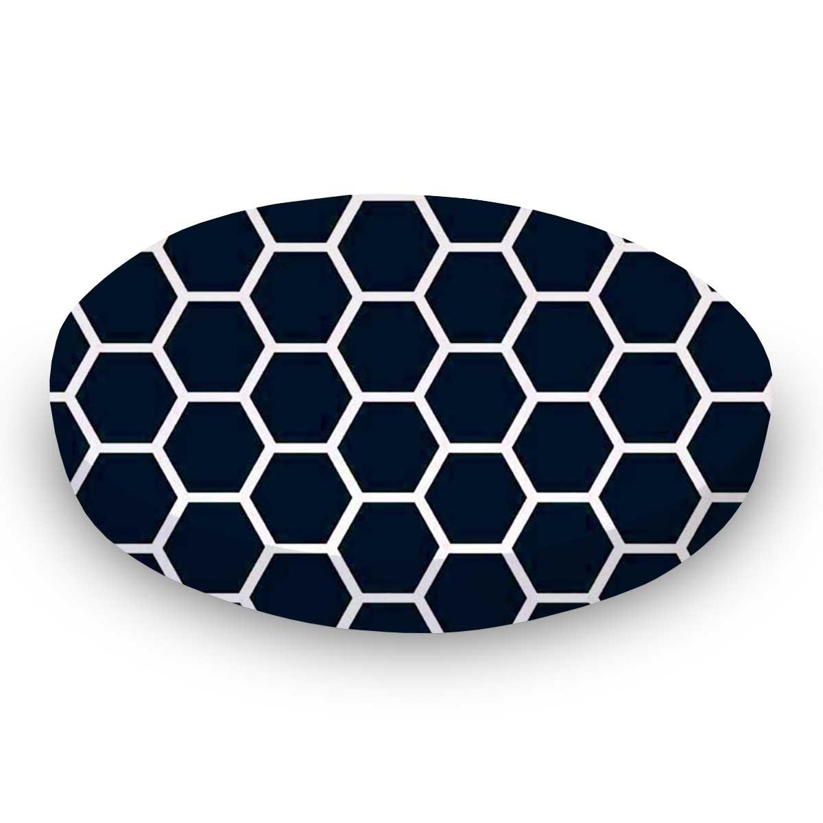 Navy Honeycomb