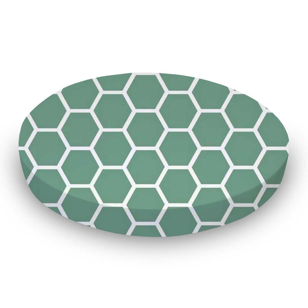 Seafoam Blue Honeycomb