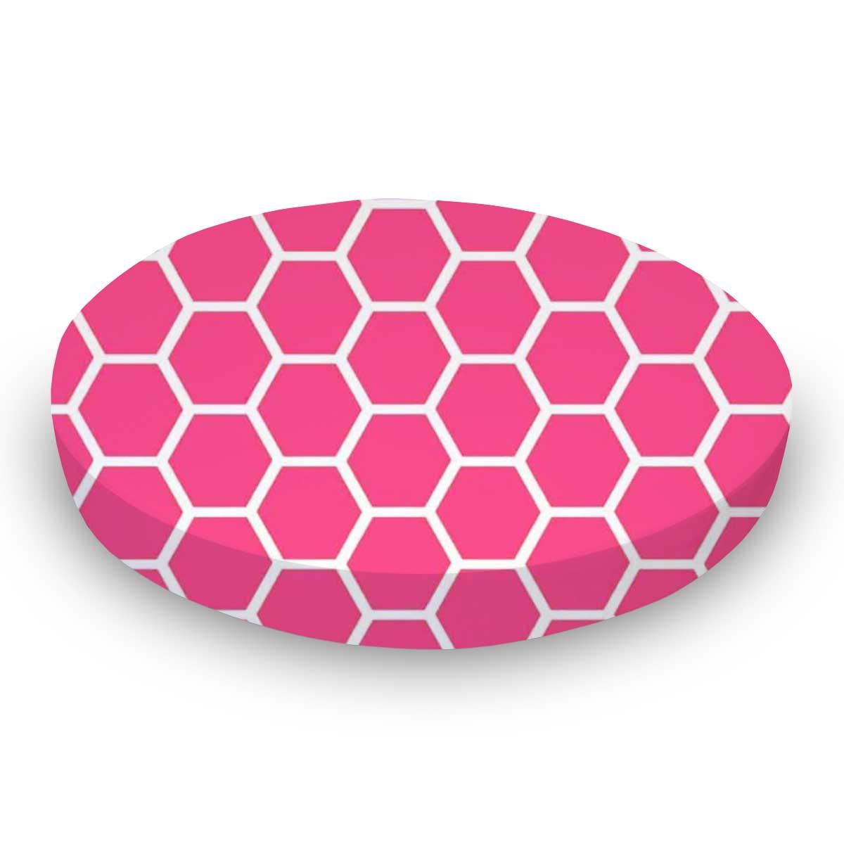 Hot Pink Honeycomb