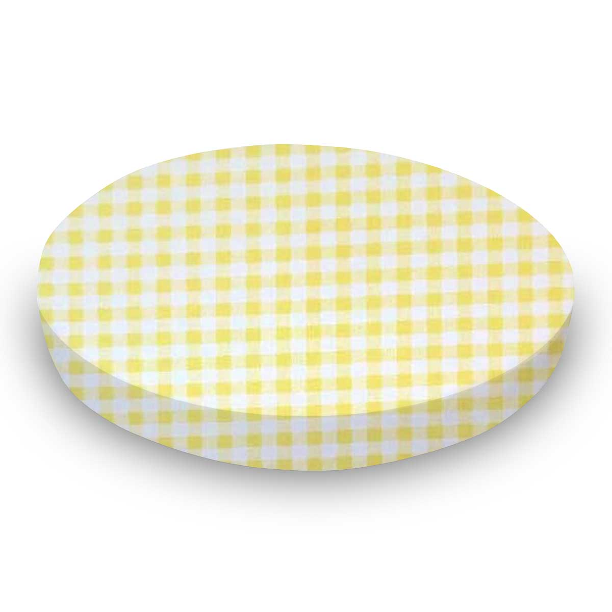 Yellow Gingham Jersey