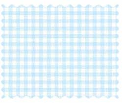 Pastel Blue Gingham Woven Fabric Fabric Shop Sheets