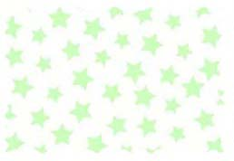Fabric Shop – Pastel Green Stars Woven Fabric – Yard