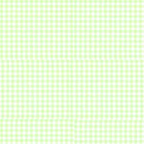 European Crib – Green Gingham – Flat