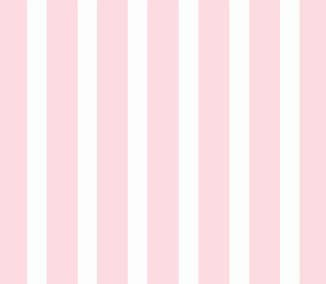 Basket – Pastel Pink Stripe Woven – Fitted