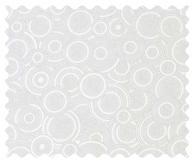 Grey Multi Circles Fabric Fabric Shop Sheets Sheetworld