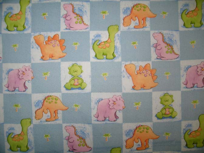 Square Playard (Graco) – Baby Dino Squares – Fitted