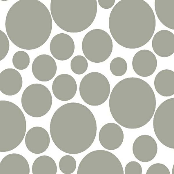 """SheetWorld Fitted Fitted Oval Crib Sheet (Stokke Sleepi) - Grey On White Dots - 26"""" x 47"""" - Made In USA at Sears.com"""