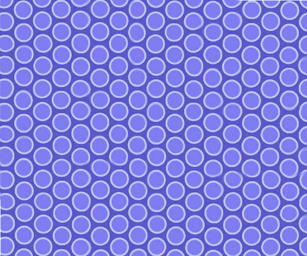Crib / Toddler - Primary Bubbles Blue Woven - Twin Pillow Case