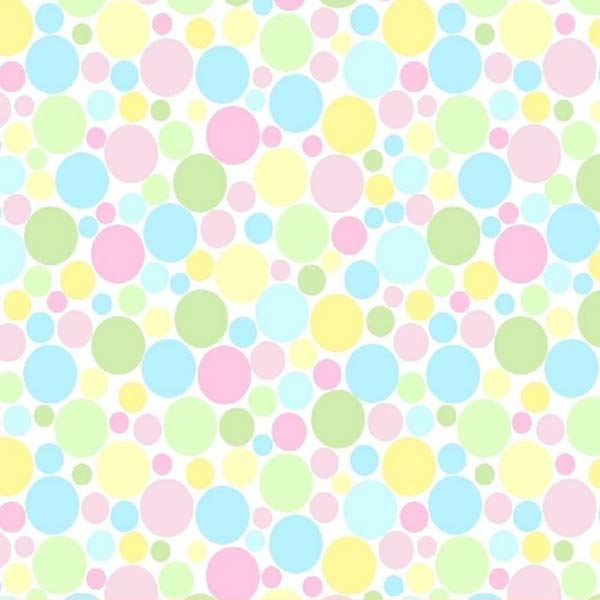 Pack N Play (Graco) - Pastel Colorful Mini Dots - Fitted