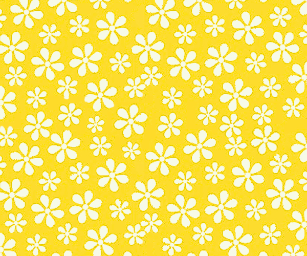 SheetWorld SheetWorld Fitted Pack N Play Sheet - Primary Yellow Floral Woven - 29.5