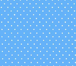 Pack N Play (Large) – Primary Pindots Blue Woven – Fitted