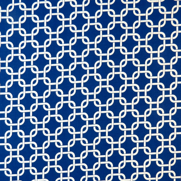 """SheetWorld Fitted Pack N Play (Graco) Sheet - Royal Blue Links - 27"""" x 39"""" - Made In USA at Sears.com"""