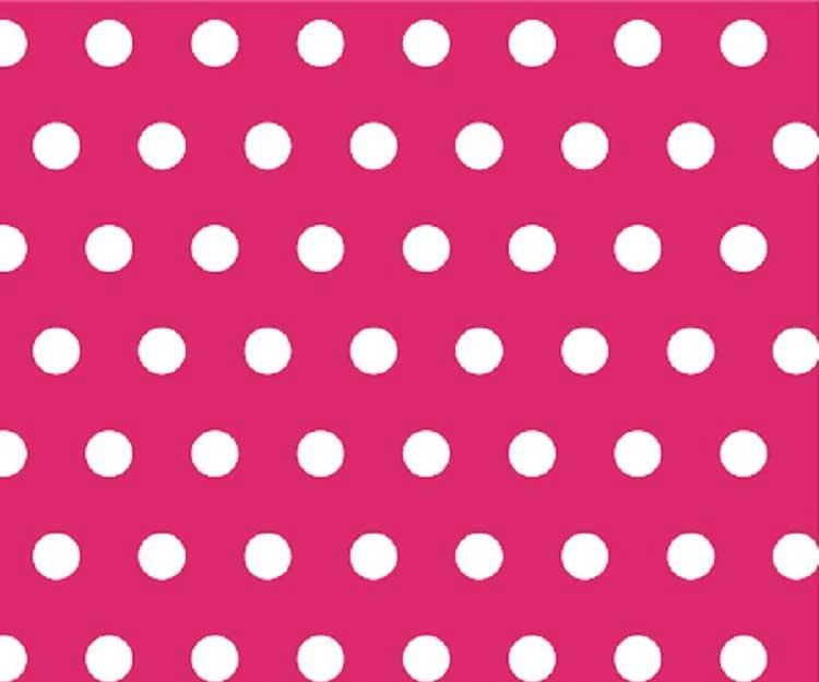 Travel | Polka | Light | Crib | Pink | Hot | Dot
