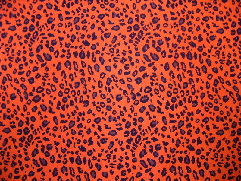 Cradle - Orange Leopard - Fitted