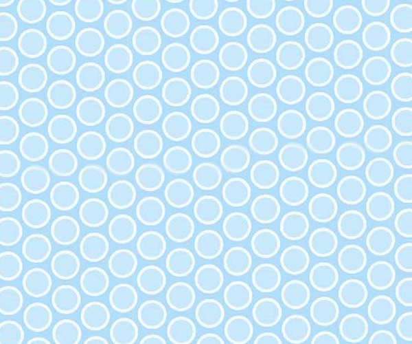 Square Playard (Graco) – Pastel Blue Bubbles Woven – Fitted