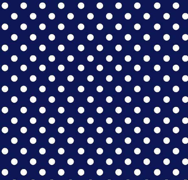 Travel Crib Light (Fits BabyBjorn) – Primary Polka Dots Navy Woven – Fitted