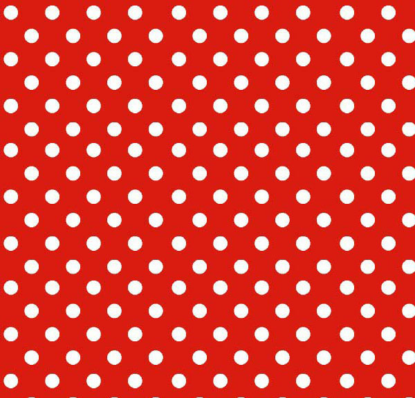 Cradle - Primary Polka Dots Red Woven - Matching Comforter