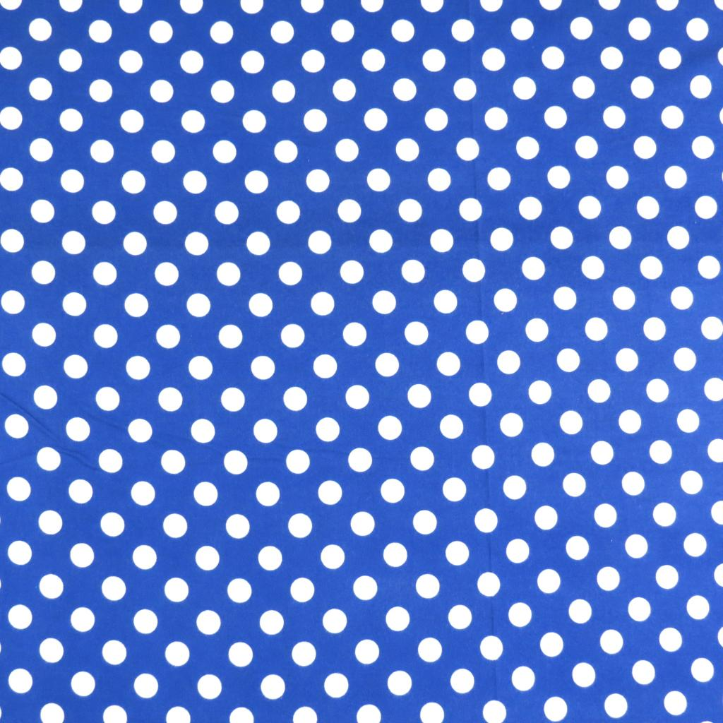 Polka Dots Royal Blue Square Playard Graco Sheets