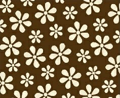 Pack N Play (Graco) – Cream Floral Brown Woven – Fitted