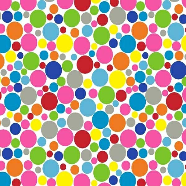 Oval (Stokke Mini) – Primary Colorful Mini Dots – Fitted  Oval