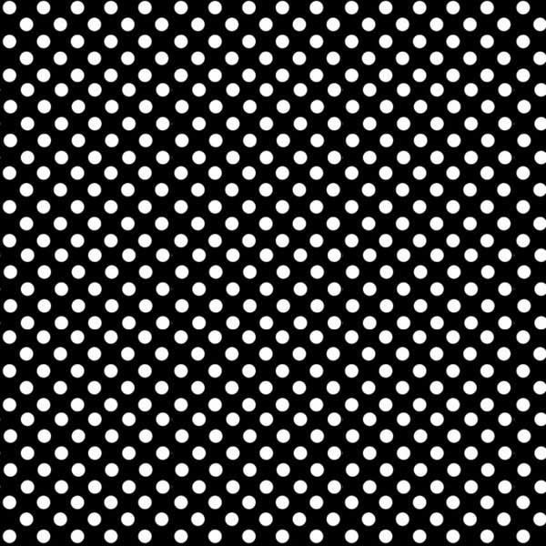 """SheetWorld Fitted Bassinet Sheet - Primary Polka Dots Black Woven - 15"""" x 32 1/2"""" - Made In USA at Sears.com"""