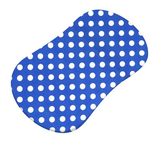Polka Dots Royal Blue