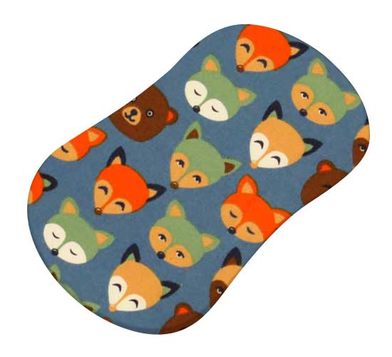 Woodland Animals Blue
