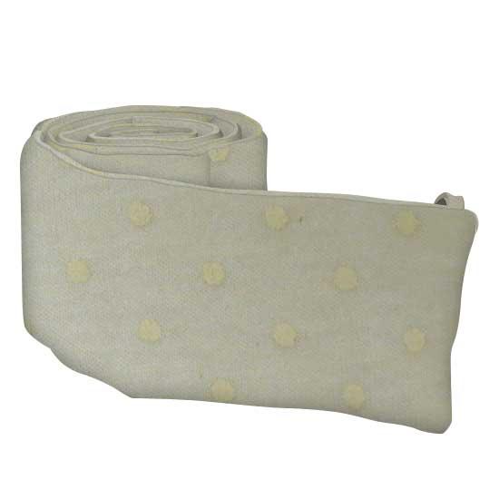 Cream Pindot Jersey Knit