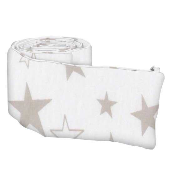 Grey Stars Jersey Knit