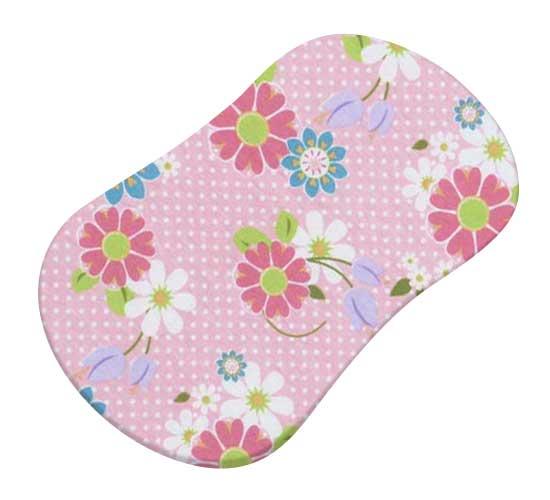 Floral Pink Dot