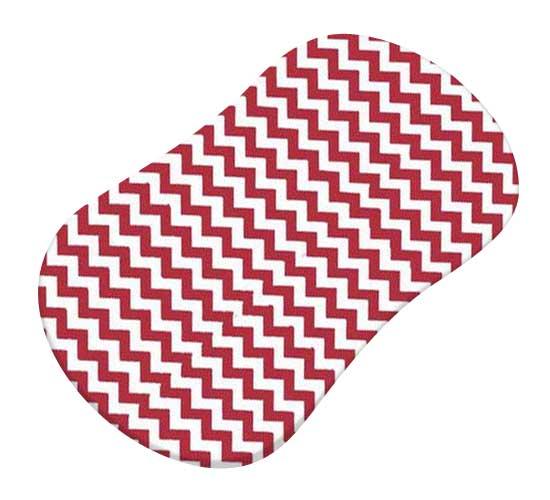 Red Chevron Zigzag