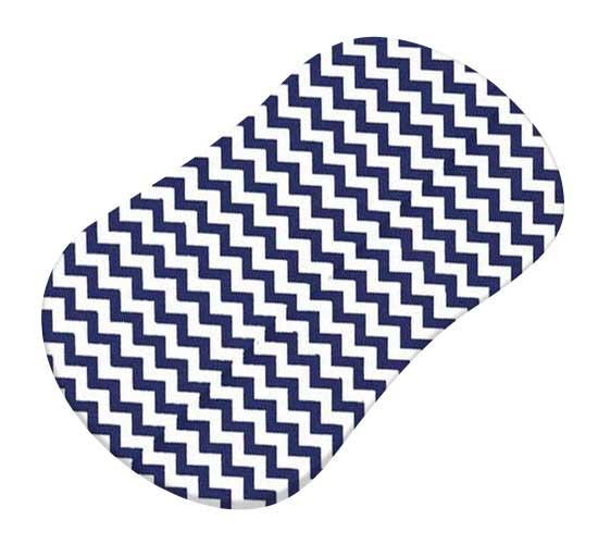 Royal Blue Chevron Zigzag
