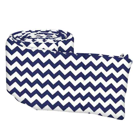 Royal Blue Chevron Zigzag