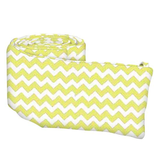 Yellow Chevron Zigzag