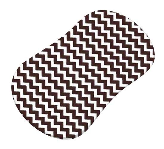 Brown Chevron Zigzag
