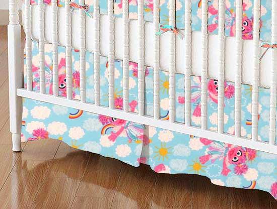 Crib Skirt - Sesame Street Abby