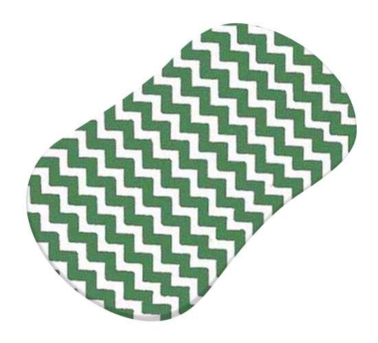 Forest Green Chevron Zigzag