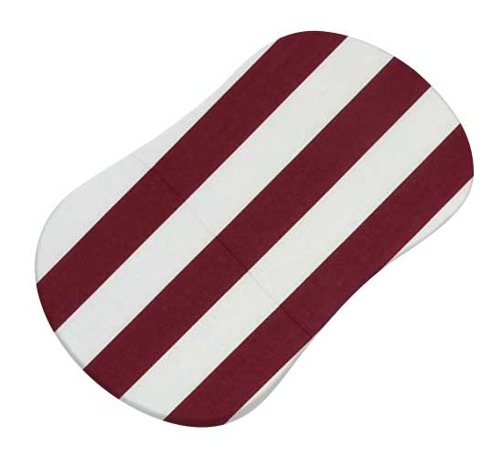 Burgundy Stripe