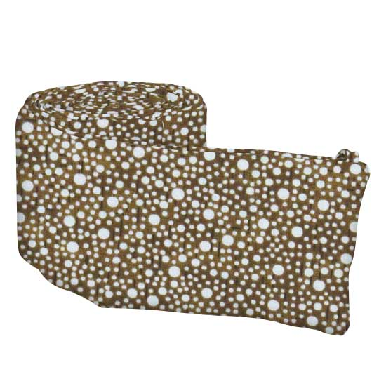 Confetti Dots Brown