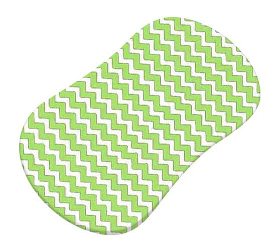 Lime Chevron Zigzag